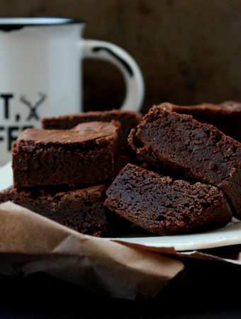 Best Chewy Chocolate Fudge Brownie Recipe