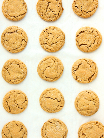 Holiday Favorite Ginger Snap Cookies