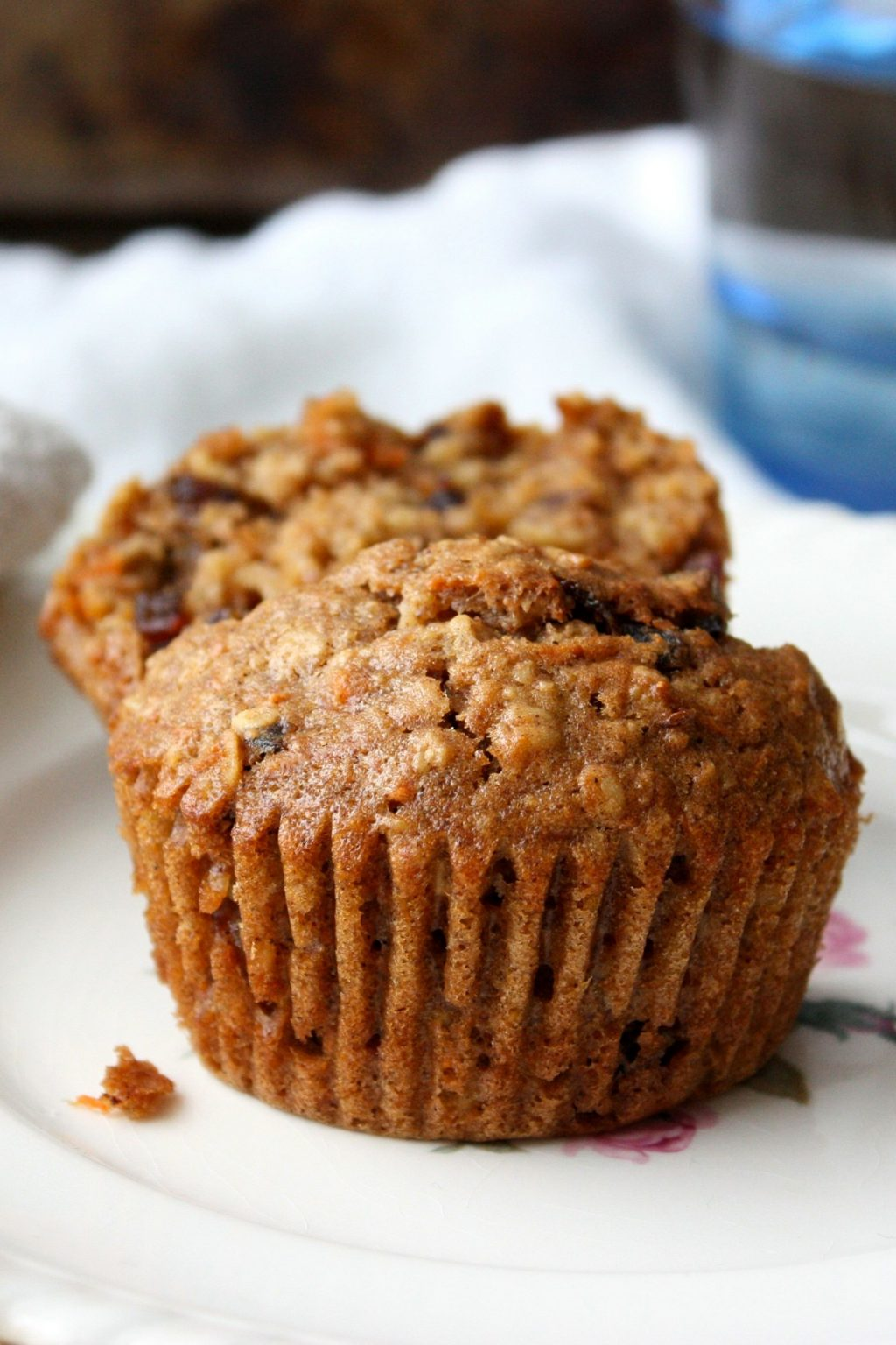 Healthy Date Carrot Muffins