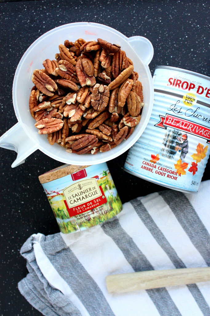 toasted maple mixed nuts