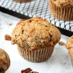 Best Zucchini Muffins with Pecans