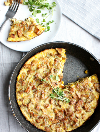 Oven-Baked Roasted Potato Frittata Recipe