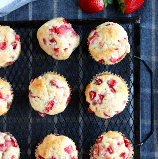 Strawberry Shortcake Muffins Recipe