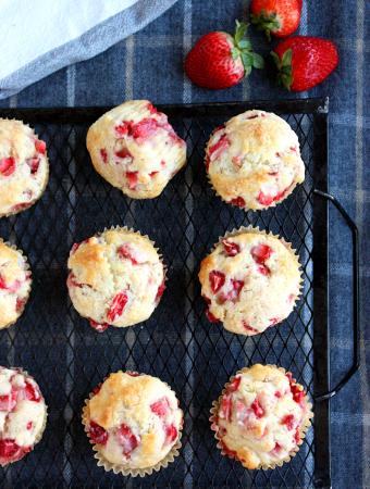 Strawberry Shortcake Muffins Recipe