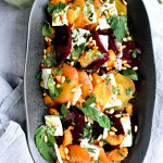 Rainbow Beet Salad with Feta and Mint