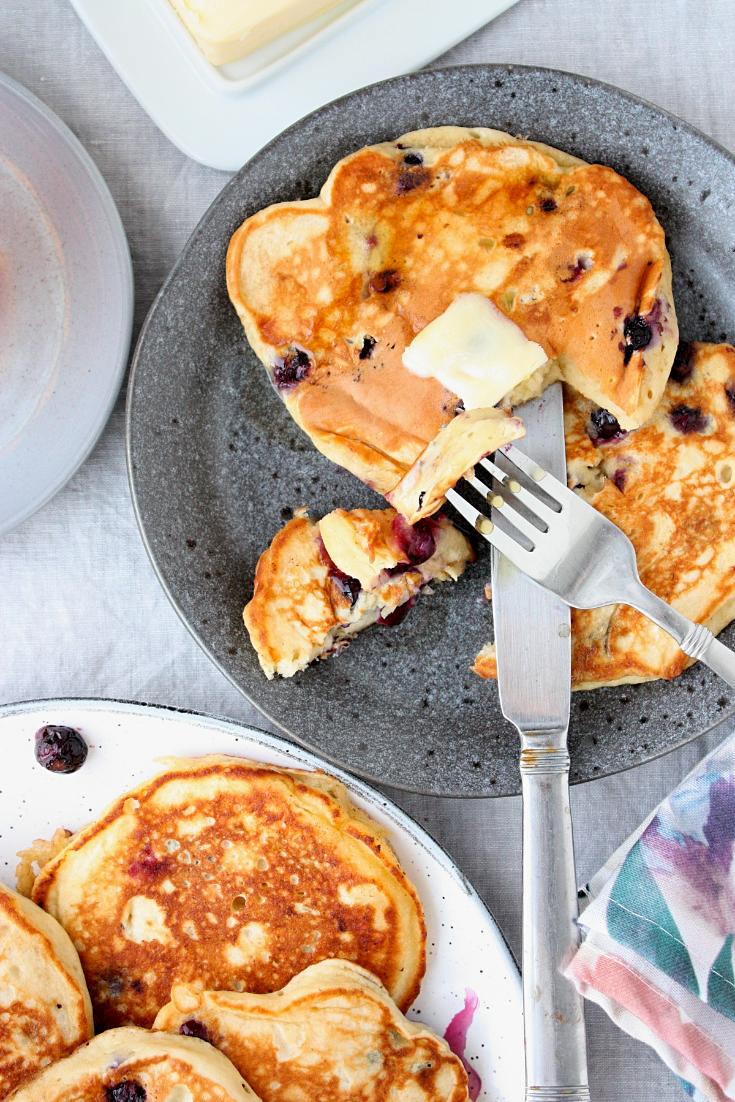 Best Blueberry Banana Pancakes Recipe