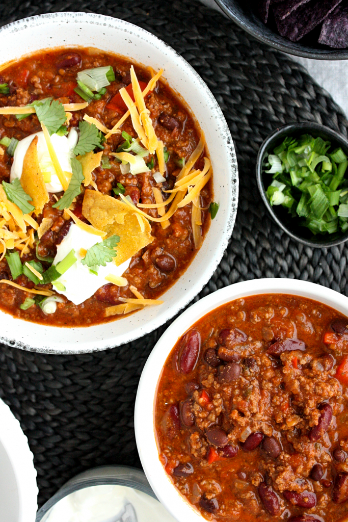 Hearty Ground Beef Chili Recipe