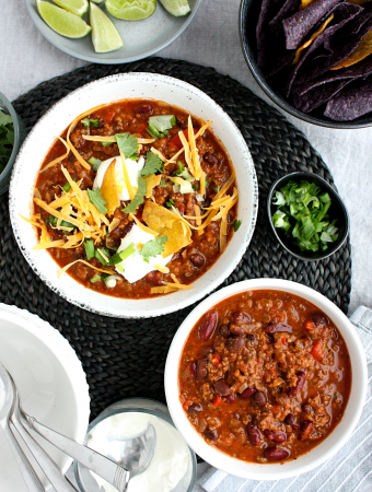 Classic Crowd Pleasing Beef Chili