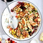 Beetroot and Halloumi Salad