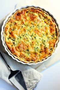 Classic Quiche Lorraine Recipe with Bacon