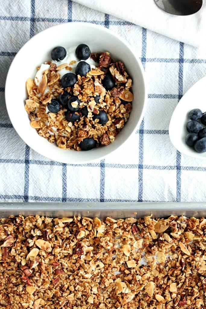 Healthy Homemade Maple Granola Recipe