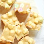 Butterscotch Marshmallow Squares