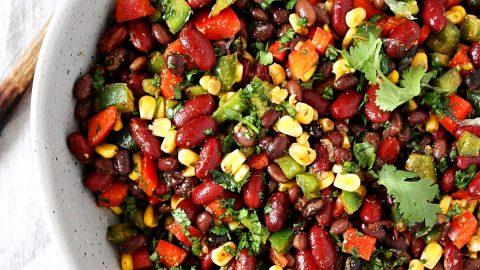 Mexican Bean Salad Monday Sunday Kitchen
