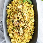 Curried Cauliflower Couscous Recipe with Mint