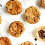 Healthy Gluten Free Banana Muffins with Chocolate Chips