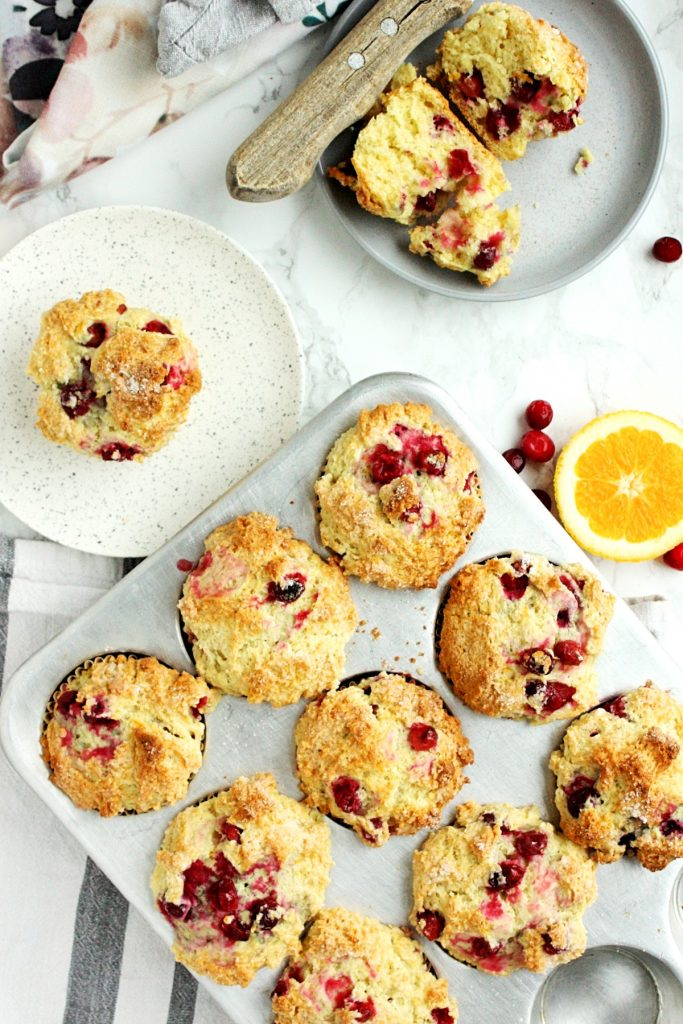 The Best Orange Cranberry Muffins