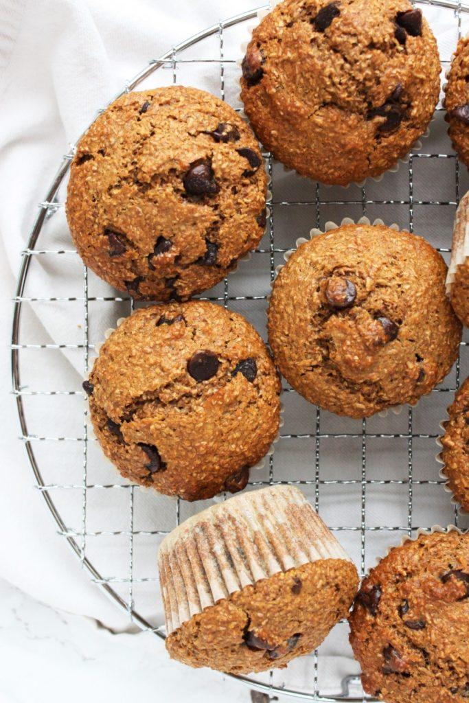 Chocolate Chip Bran Muffins